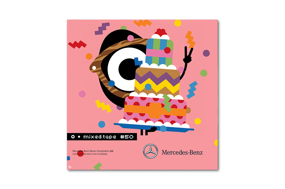 Mercedes-Benz Mixed Tape 50th Anniversary Campaign with Darcel Disappoints!
