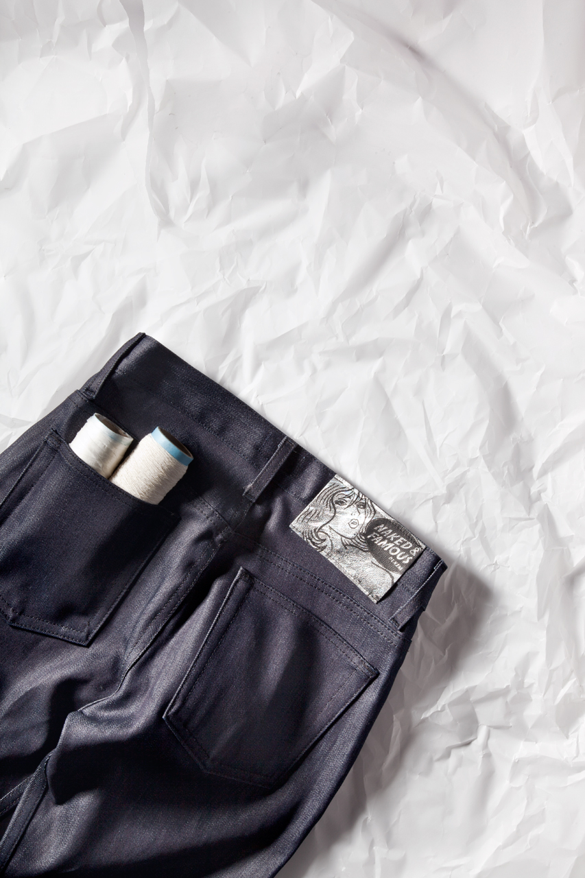 naked famous indigo weird guy paper denim hypebeast exclusive