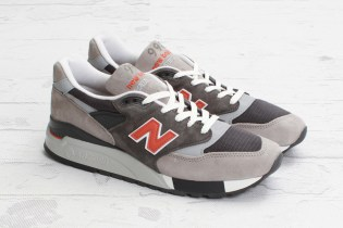 New Balance M998GGO Grey/Orange