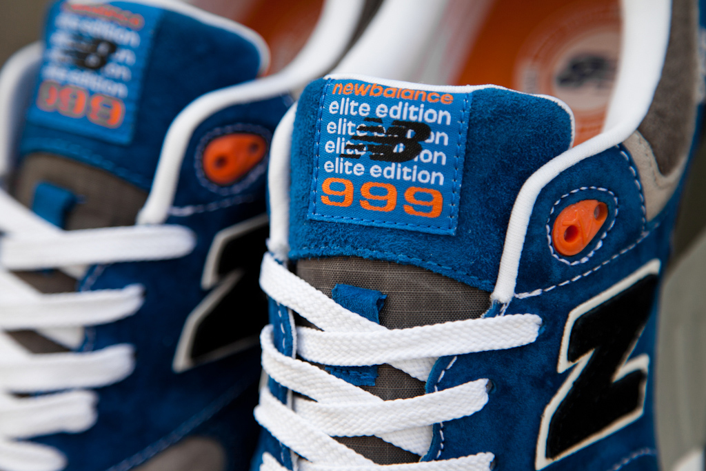 new balance 999 knicks logo