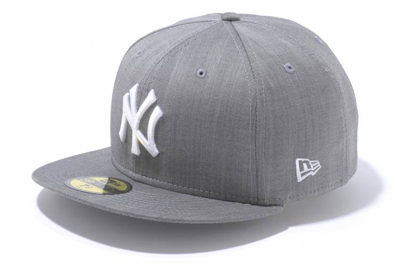 New Era 2013 Spring/Summer Ermenegildo Zegna Cool Effect Grey Herringbone 59FIFTY