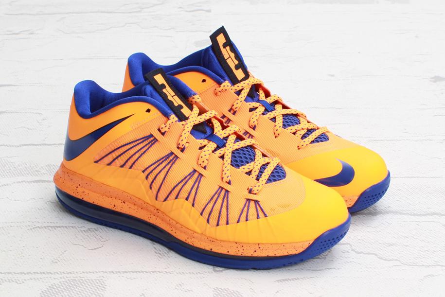 "Nike Air Max LeBron X Low ""Bright Citrus/Hyper Blue"""