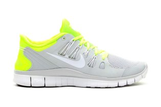 Nike Free 5.0+ Breeze Volt/Pure Platinum