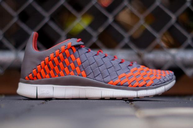 Nike Free Inneva Woven Grey/Crimson