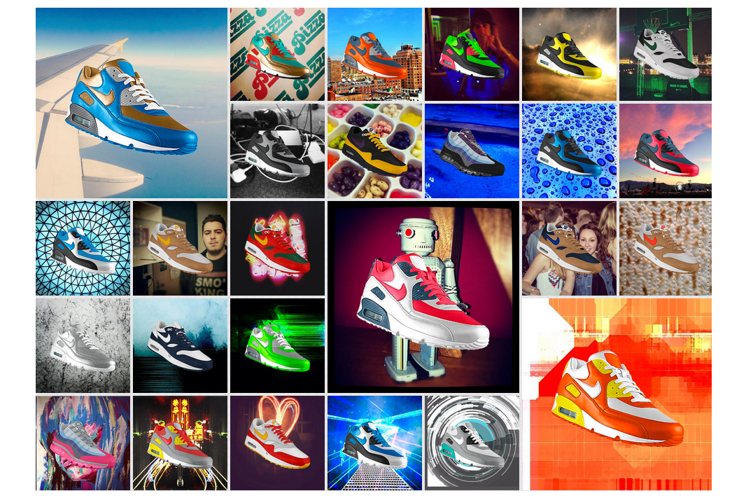 Nike Introduces PHOTOiD: NIKEiD for Instagram