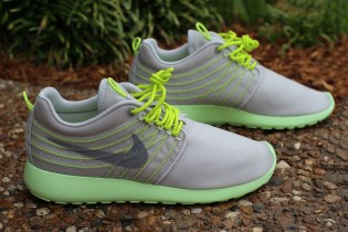 Nike Roshe Run Dynamic Flywire Grey/Cyber