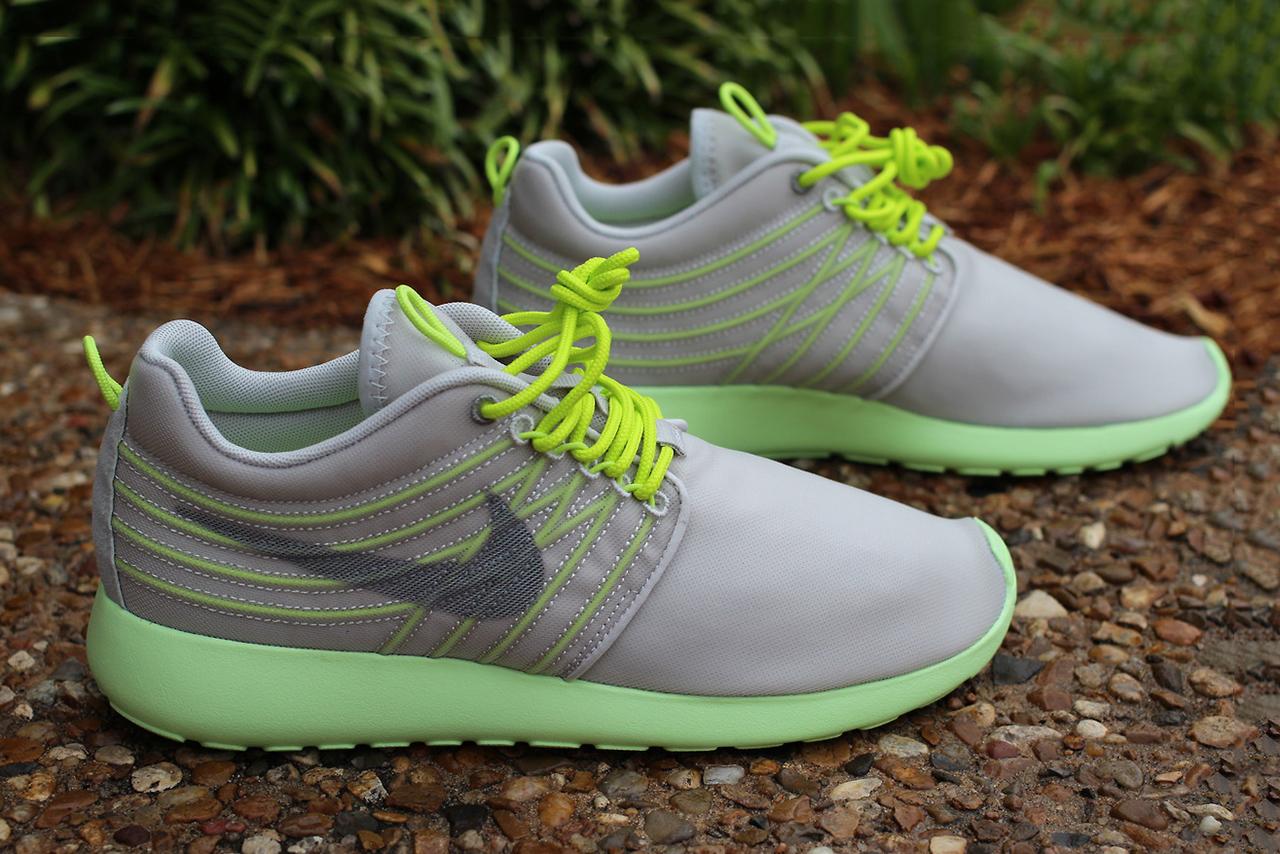 Nike Roshe Run Dynamic Flywire Grey/Cyber