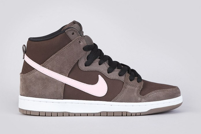 Nike SB Dunk High Pro Smoke/Ion Pink-Baroque Brown