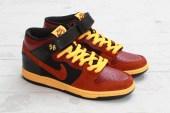 Nike SB Dunk Mid Pro Team Red/Rugged Orange