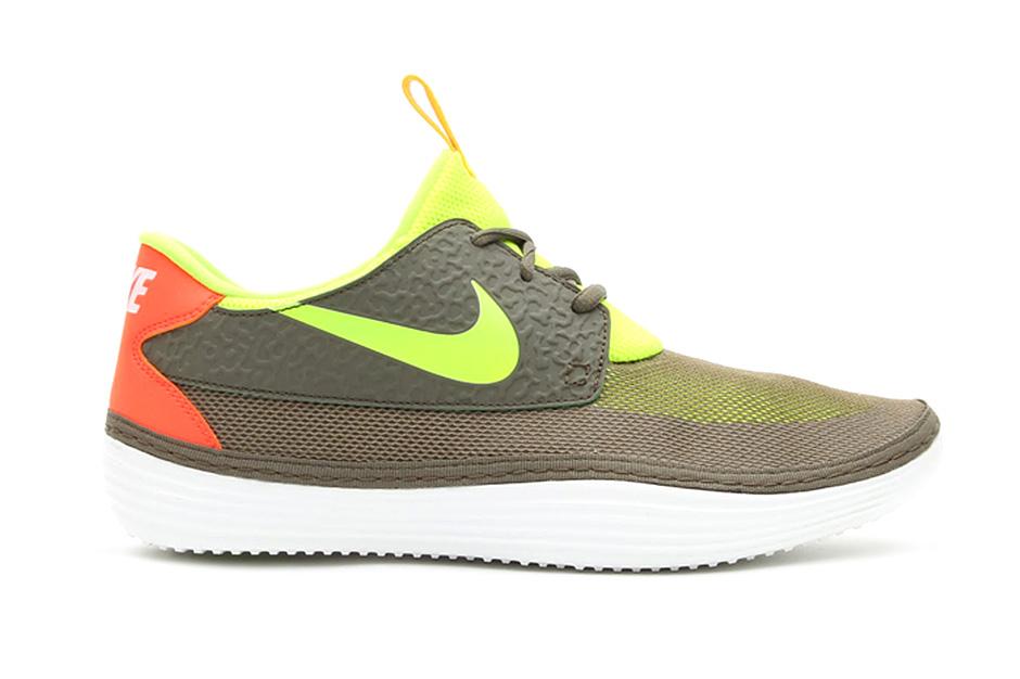 Nike Solarsoft Mocassin Tarp Green/Volt