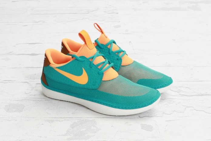 Nike Solarsoft Moccasin Sport Turquoise/Bright Citrus