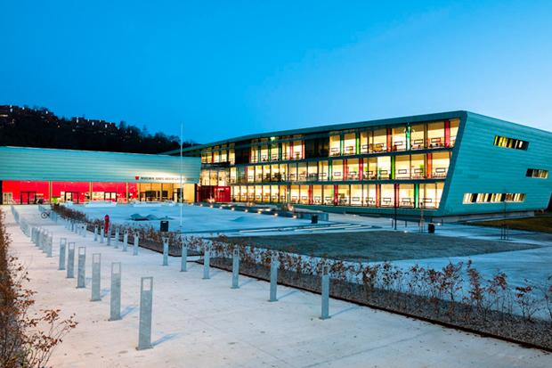 Nordahl Grieg High School by Link Arkitektur