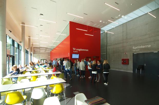 Arkitektur arkitektur school : Nordahl Grieg High School by Link Arkitektur | HYPEBEAST