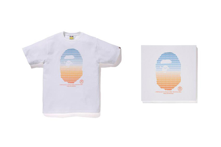 NOWHERE / A Bathing Ape 20th Anniversary Collaborations with Kanye West, Pharrell, Futura & More
