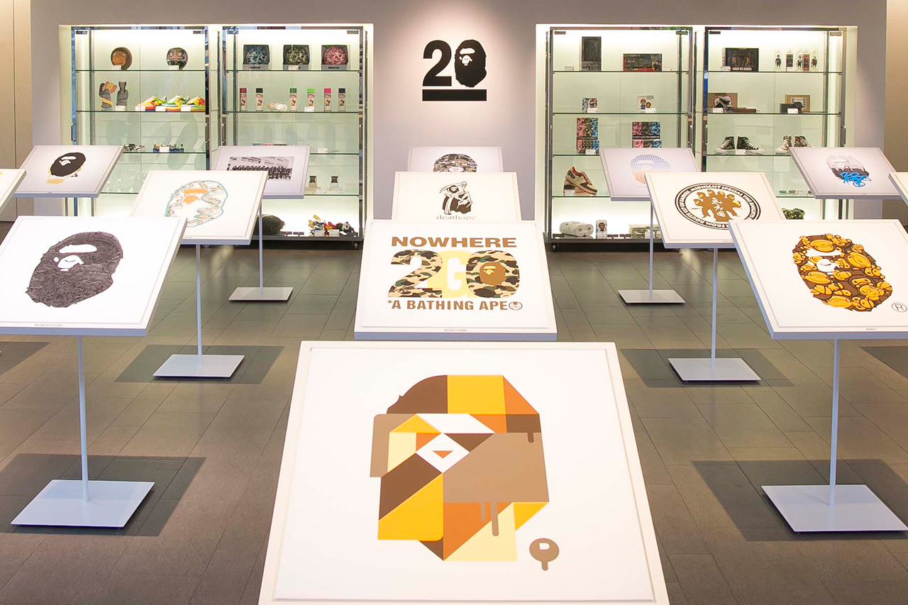 NOWHERE / A Bathing Ape 20th Anniversary Event Recap
