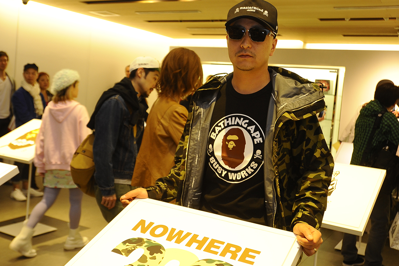 nowhere a bathing ape 20th anniversary event recap