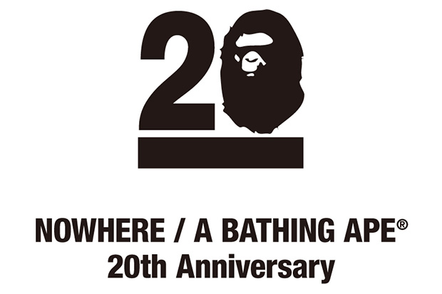 NOWHERE / A Bathing Ape's 20th Anniversary to Feature Collaborations with Kanye West, Pharrell, Futura and More