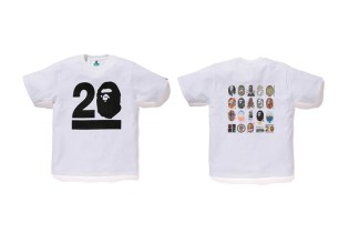 NOWHERE / A Bathing Ape 20th Anniversary Limited Canvas and T-Shirt