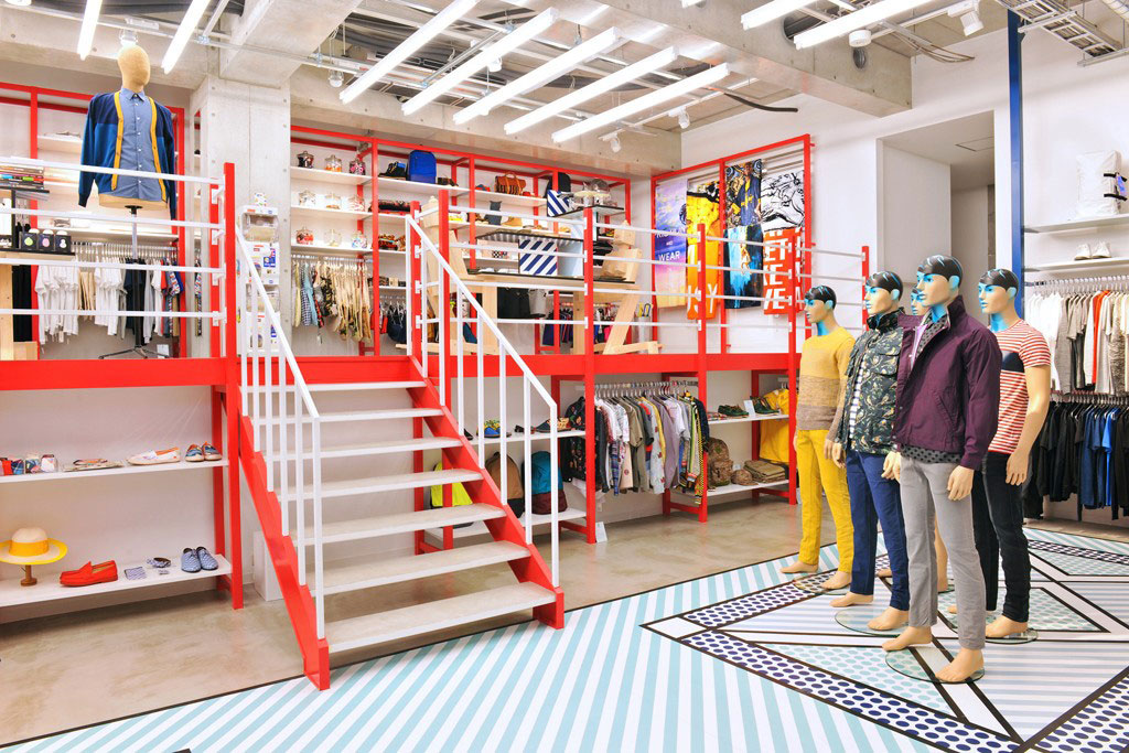 Take a Peek Inside Opening Ceremony's New Tokyo Store