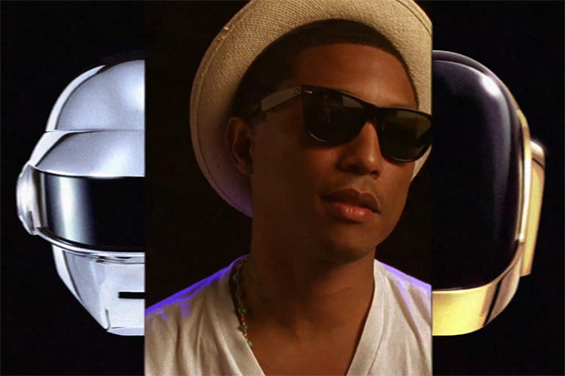 Pharrell Sheds Light on His Collaboration with Daft Punk