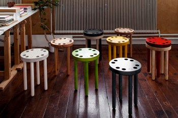 Poke Stools by Kyuhyung Cho for SNICKERIET