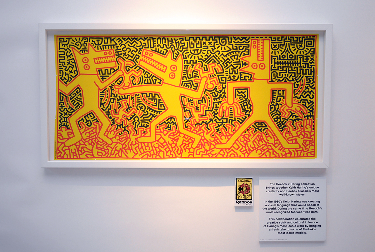 Reebok Classics presents Keith Haring Exhibition
