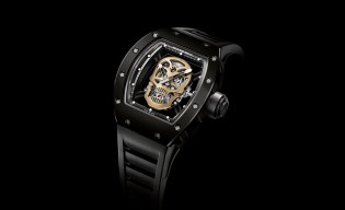 Richard Mille RM 52-01 Nano-Ceramic Skull Tourbillon