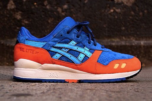 "Ronnie Fieg x ASICS Gel Lyte III ""Blue/Orange"" ECP Preview"