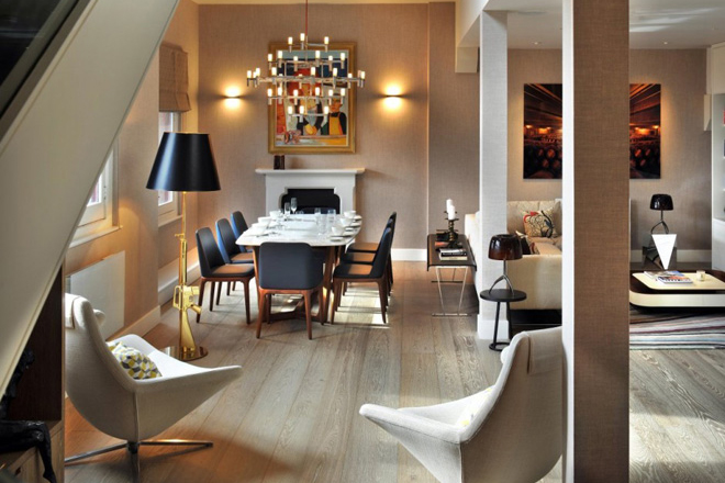 st pancras chambers penthouse apartment by tg studio