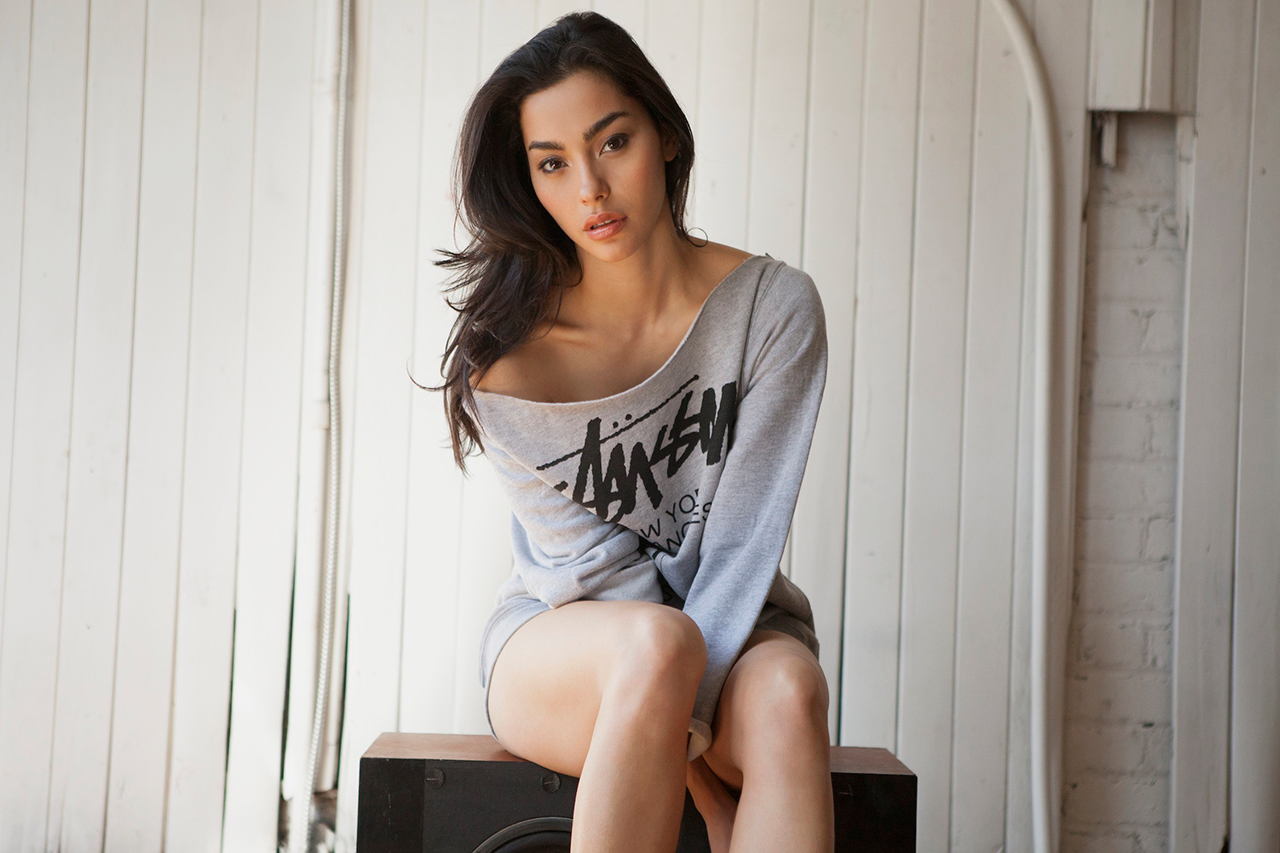 Stussy 2013 Spring/Summer Lookbook featuring Adrianne Ho