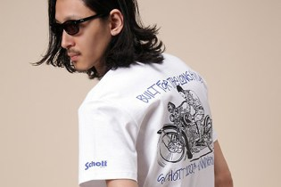 Stussy for Schott 100th Anniversary Collection