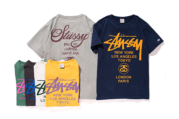 "Stussy x Champion 2013 Spring/Summer ""Rochester"" Collection"