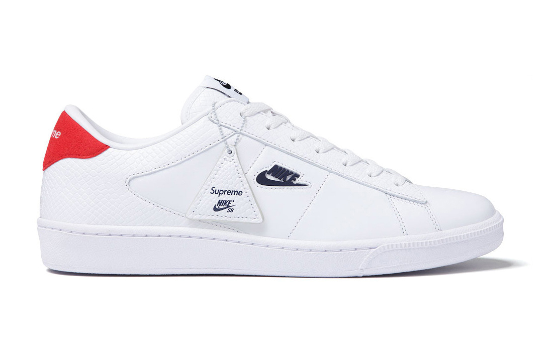 supreme x nike sb tennis classic hypebeast. Black Bedroom Furniture Sets. Home Design Ideas