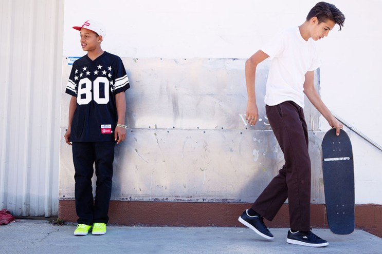 Supreme x Nike SB Tennis Classic Lookbook