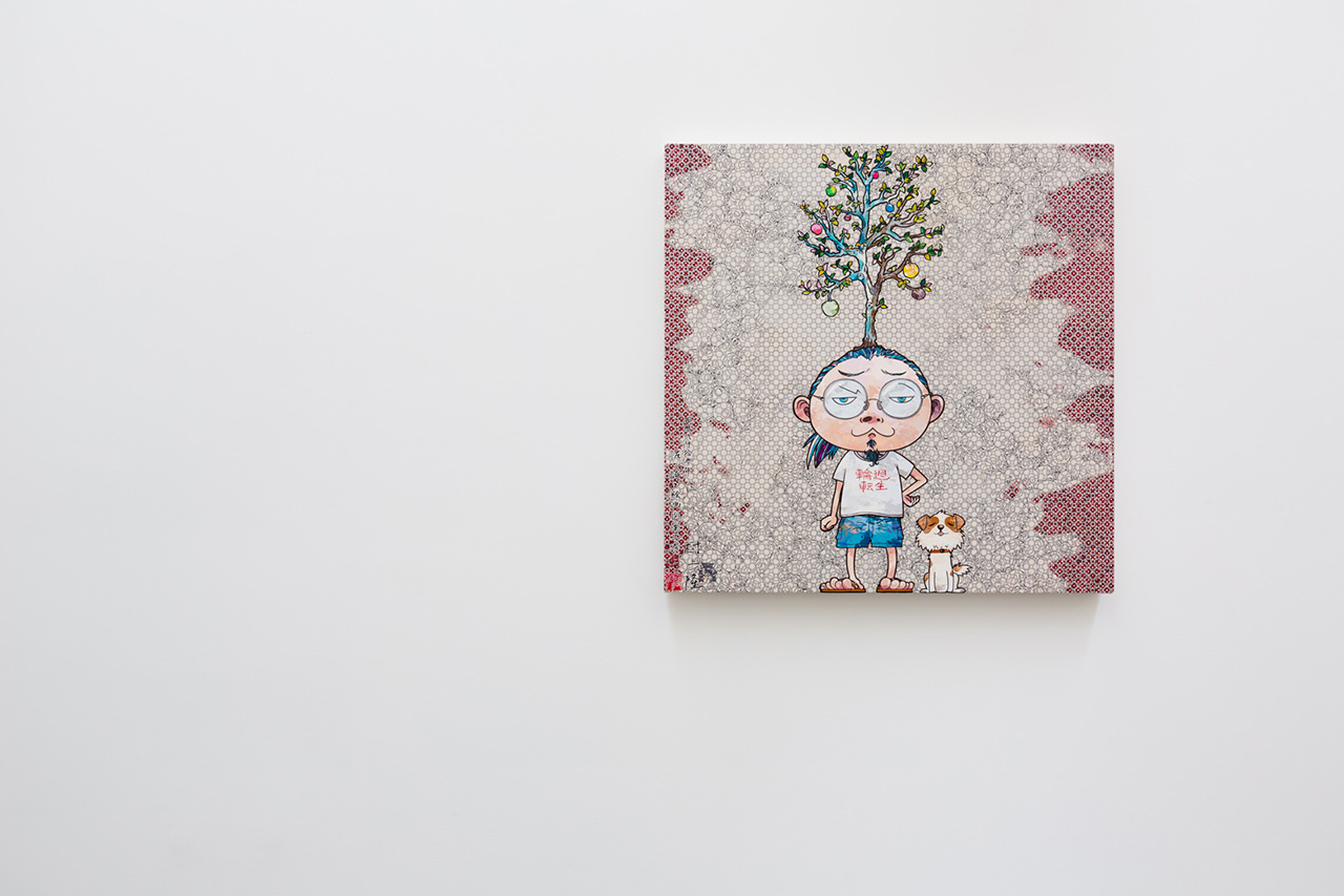 takashi murakami arhat exhibition recap blum poe