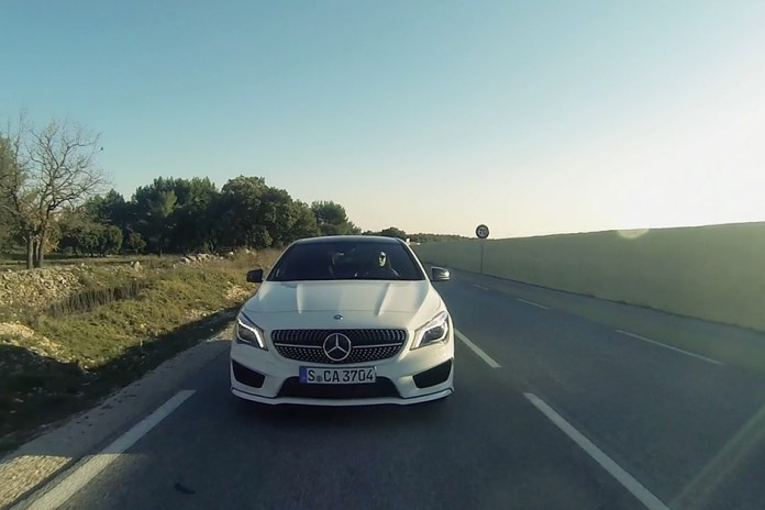 Taking the New 2014 Mercedes-Benz CLA for a Drive