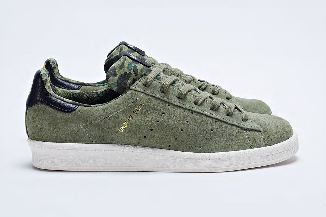 the a bathing ape x undftd x adidas consortium 2013 spring summer collection gets a release date