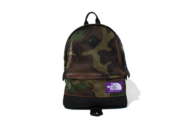 THE NORTH FACE PURPLE LABEL 2013 Spring/Summer Camouflage Mesh Bag Collection