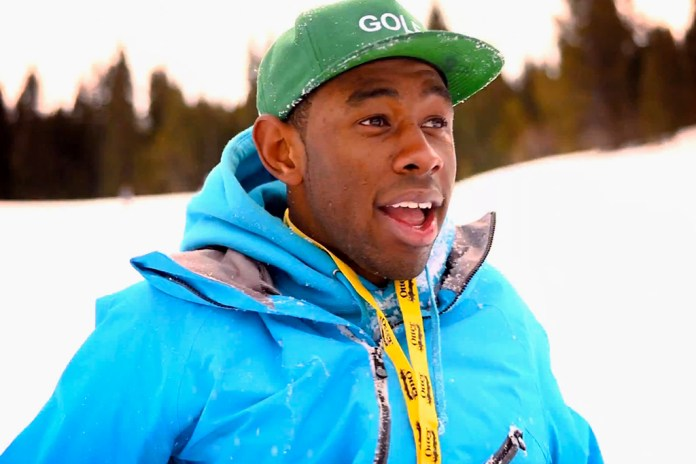 Tyler, the Creator at X Games in Aspen, Colorado