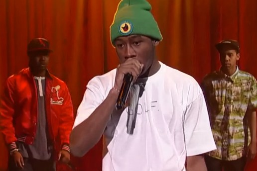 Tyler, the Creator featuring Earl Sweatshirt & Domo Genesis – Rusty (Live on Letterman)