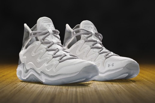 """Under Armour Charge BB Low """"Clean White"""" & """"Blacked Out"""""""