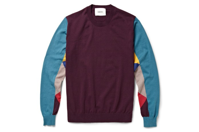 UNDERCOVER 2013 Spring/Summer Panelled Cotton-Jersey Sweater