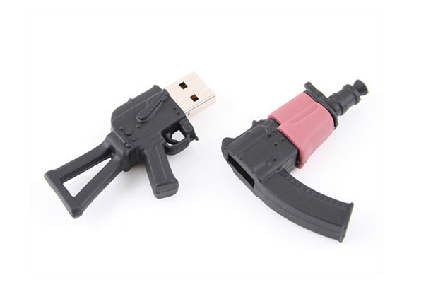 USBGeek AK-47 & Handgun USB Drives