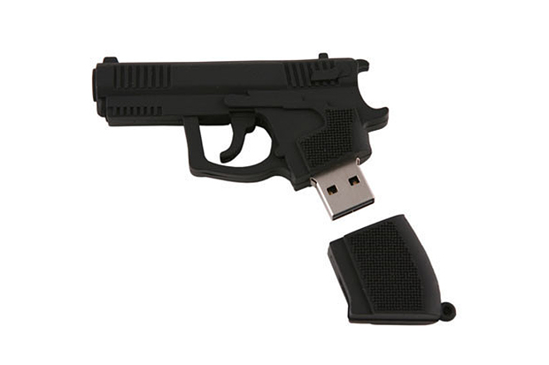 usbgeek ak 47 handgun usb drives