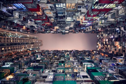 Vertical Horizon of Hong Kong by Romain Jacquet-Lagreze