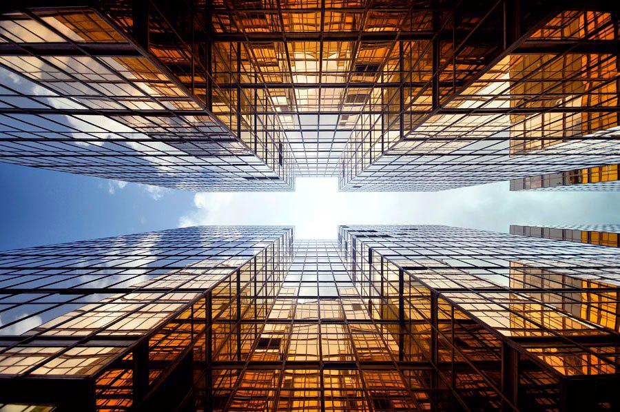 Vertical Horizon of Hong Kong by Romain Jacquet-Lagreze
