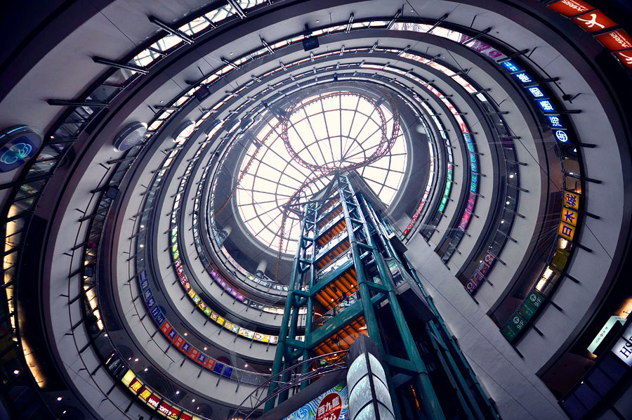 vertical horizon of hong kong by romain jacquet lagreze