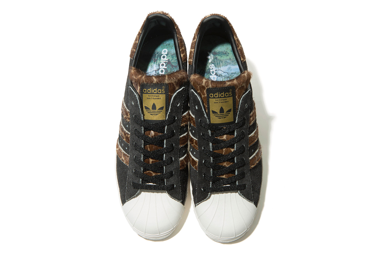 """XLARGE x adidas Originals SS 80s """"Giraffe"""""""