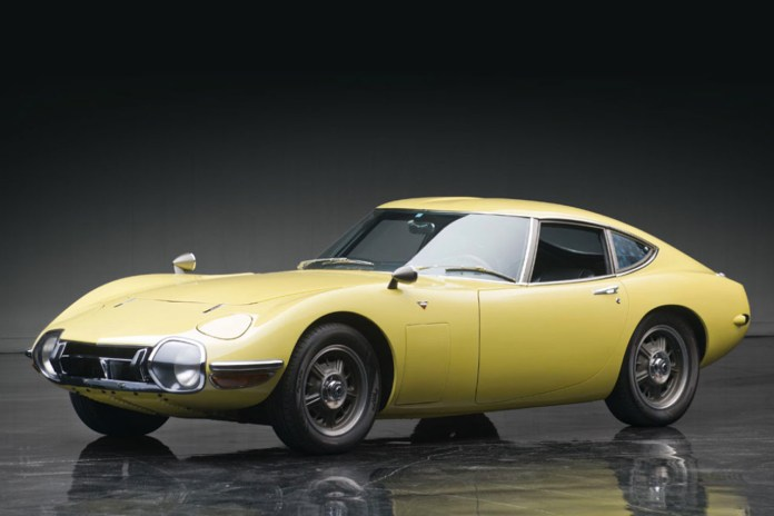 At $1.2 Million USD, This 1967 Toyota 2000GT Is the World's Most Expensive Asian-Made Car