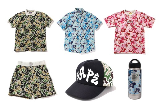 "A Bathing Ape 2013 Spring/Summer ""HIEROGLYPH CAMO"" Collection"